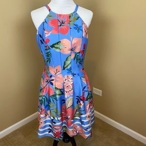 Vince Camuto | floral Dress, Sz 10